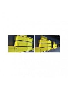 Lots de 10 mesures roulantes jaune/noir 5m x 19mm