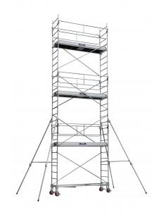 PANTALON BICOULEUR STRETCH GRIS/NOIR TAILLE S - INDUSTRIAL STARTER