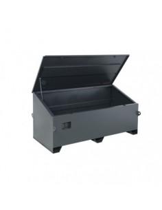 Coffre à outils métal rouge 550x350x350 65L