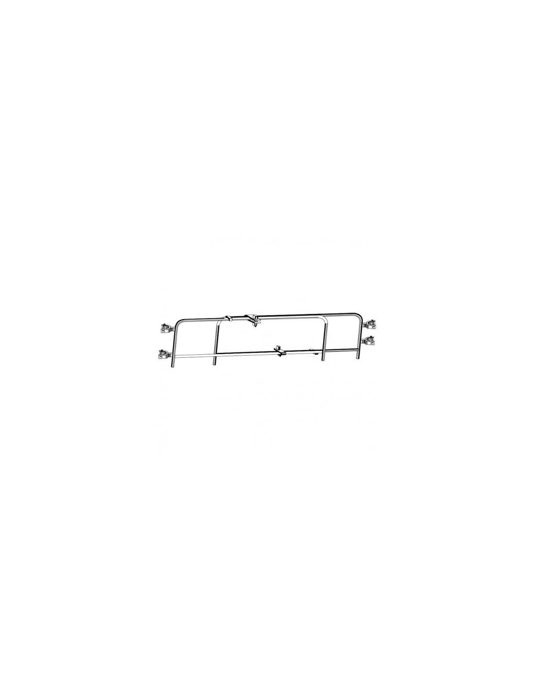 garde corps t lescopique simple 2m 3m50. Black Bedroom Furniture Sets. Home Design Ideas