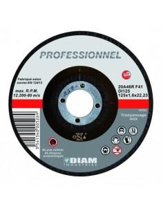Disque diamant laser béton/granit D300