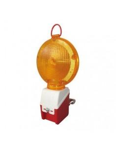 Lampe clignotante à diodes fixation échafaudage +clé Niko